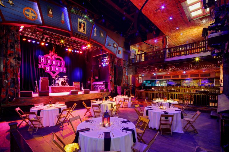Foundation Room House Of Blues Hollywood