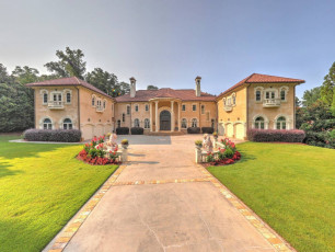 Mediterranean Atlanta Mansion
