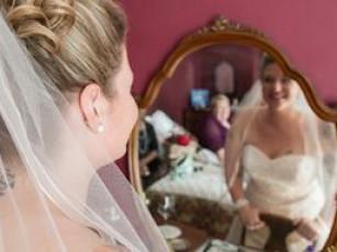 bridal suite prep room