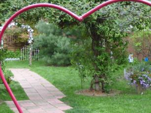 beautiful summer garden reception space for 30