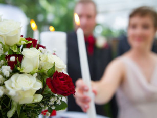 wedding photographer on site