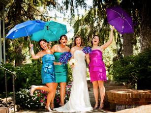 Bridesmaids at Round Hill